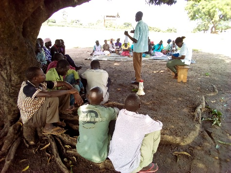 Community dialogue on parenting& children's rights in Ponyura village