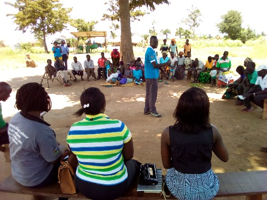 OPM responds to community concerns during integrated village meeting in Waju 1