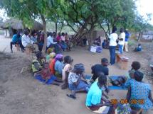 Environmental awareness session on waste management in Lokujo